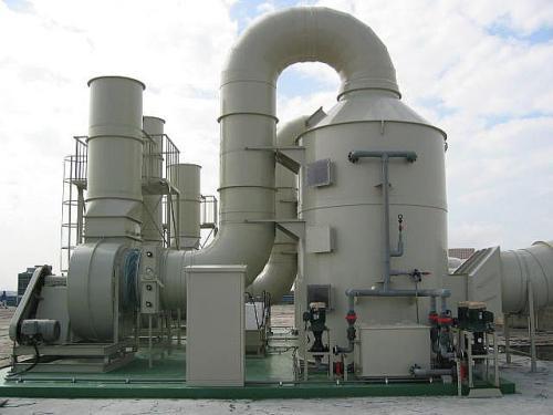 酸霧吸收塔的工作原理和廢氣處理方法