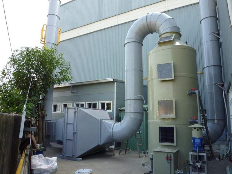 水噴淋廢氣凈化塔