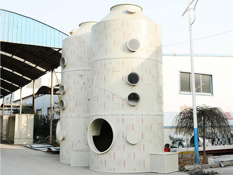 塑料廢氣噴淋塔