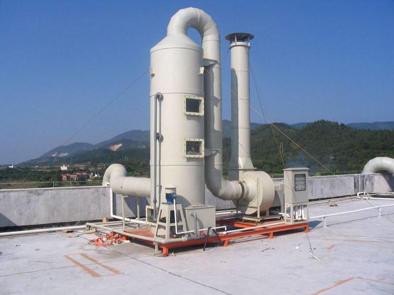 工業廢氣噴淋塔設備