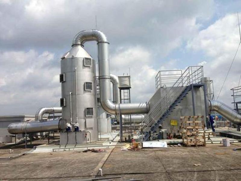 不銹鋼廢氣噴淋塔設備