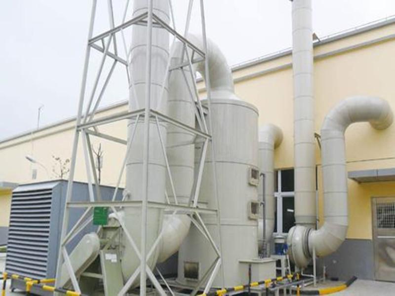 pp酸堿廢氣噴淋塔